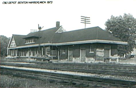 C&O Benton Harbor Depot