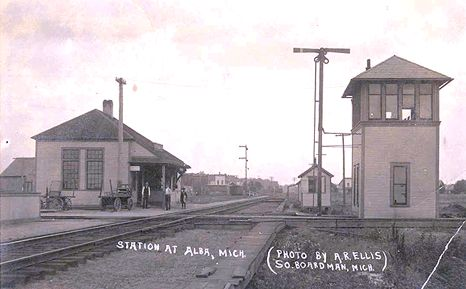 Alba Interlocking Tower and Depot