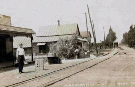 Anchorville MI Interurban Depot