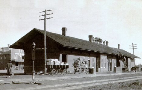 MILW depot at Channing