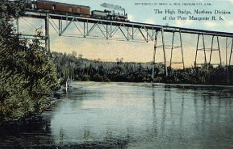 PM High Bridge Postcard