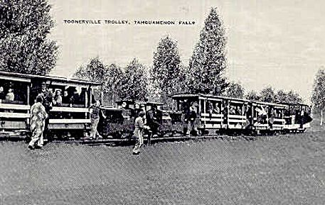 Toonerville Trolley at Soo Jct