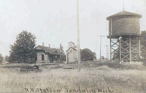 Vandalia Depot, Elevator and Water Tower